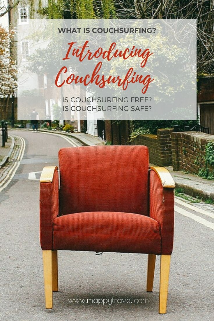 9 Tips to Safe Couchsurfing & Free Accommodation Travel Experience (Pinterest)