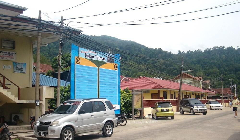 Kampung Tekek Ferry Terminal Surrounding
